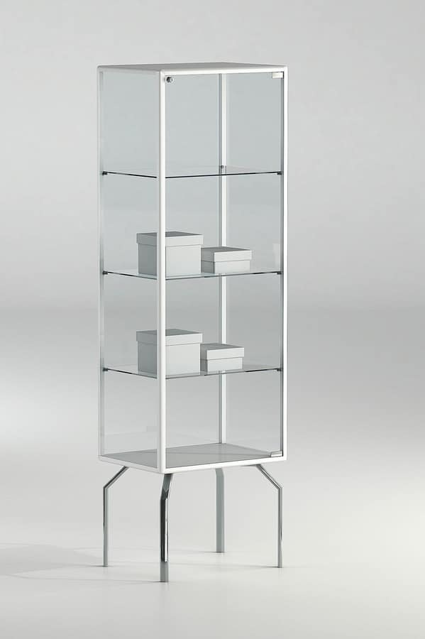 ALLdesign plus 51/17P, Showcase for shop, with aluminum profiles