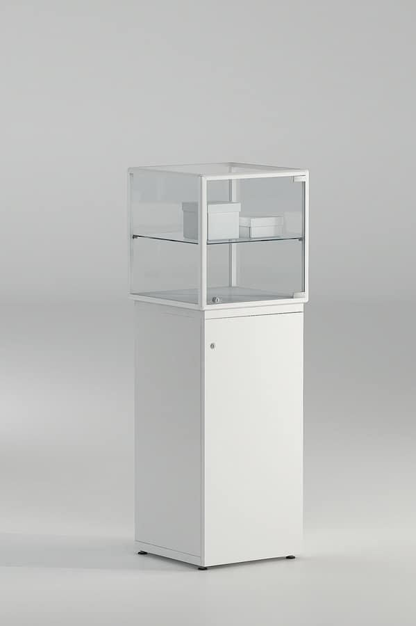 Display Cabinet For Jewelry With Lock