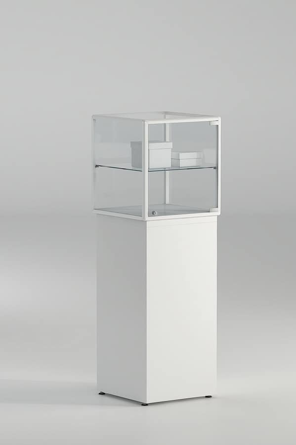 ALLdesign plus 6/PLP, Showcase with lock, for museums and shops