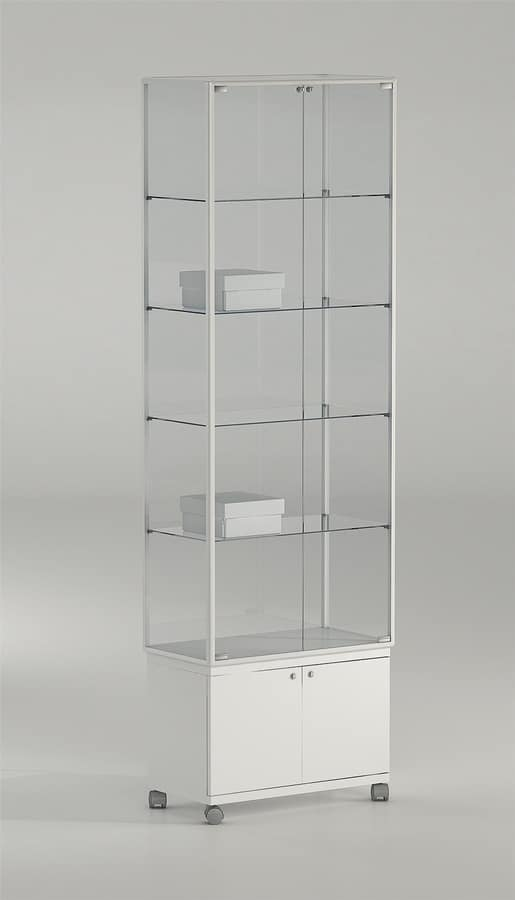ALLdesign plus 71/MAP, Glass display cabinet, for precious products