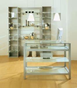 Aury 80/BA, Furniture shop, shop windows, modular furniture commercial space Stores, Boutiques, Showroom