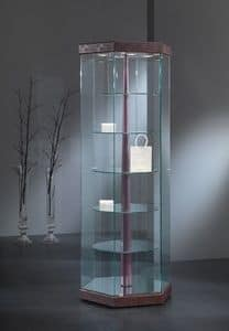 Black&White 7/G, Elegant showcases, minimal design, display cabinet, for Shops