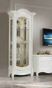 Giulietta Art. 3603, Classic style showcase, with 1 door
