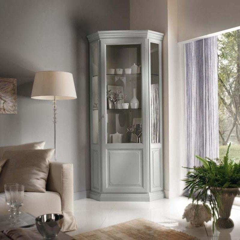 La Maison MAISON706T, Classic style corner display cabinet