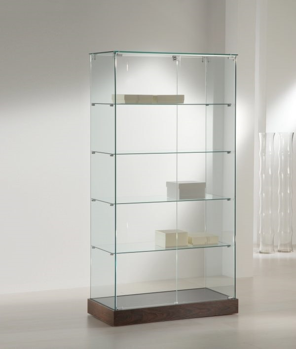 Laminato 130/CC, Display cabinet with glass shelves