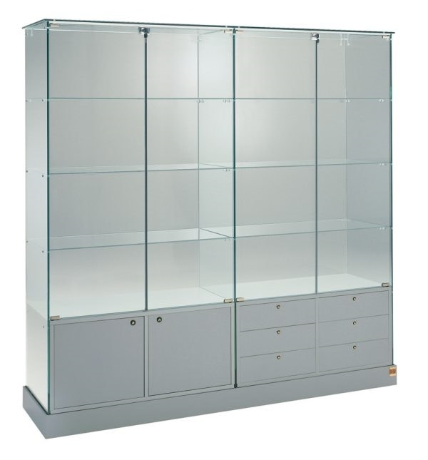Laminato 160/CM, Large showcase with doors and drawers