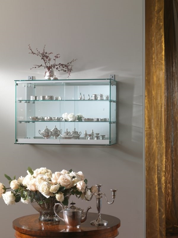 Laminato 200/F, Wall display cabinet with mirror back