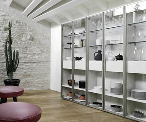 Modo M5C63, Bookcase with glass doors