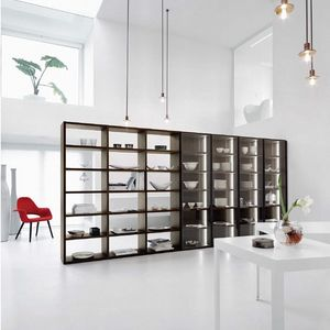Modo M5C91, Bookcase with glass doors