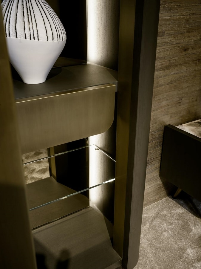 PANGEA display cabinet GEA Collection, Display cabinet with a very fine design