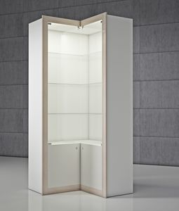 QF/AA, Corner cabinet with cabinet with doors