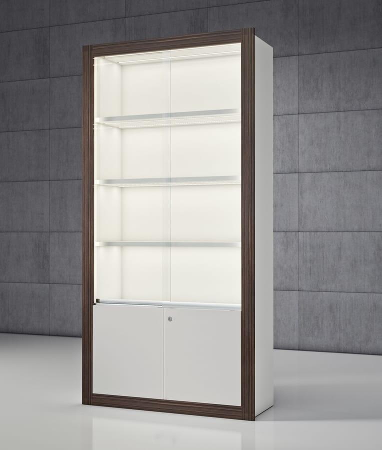 Modular Showcase With Sliding Doors Idfdesign