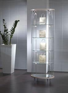 Top Line 203/OP, Glass showcase, for shops and living rooms