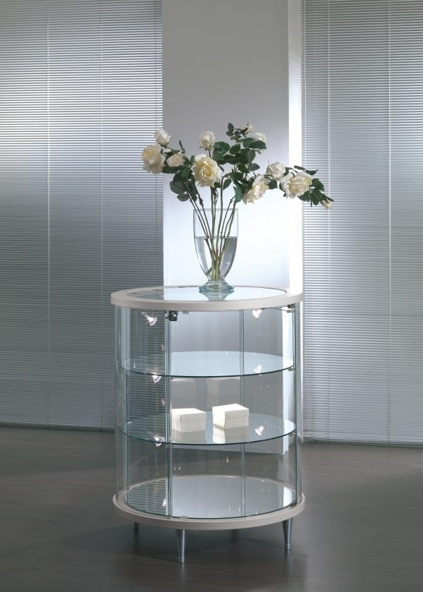 Top Line 3 203/B, Round showcase, with LED lights