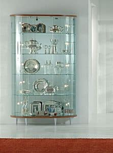 Top Line 3 3/M, Glass display cabinet, stores furniture
