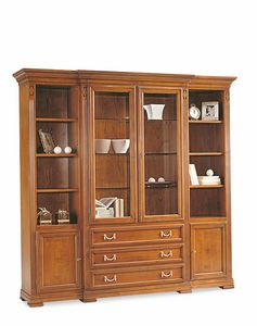 Villa Borghese display cabinet 7385, Large display cabinet for dining room