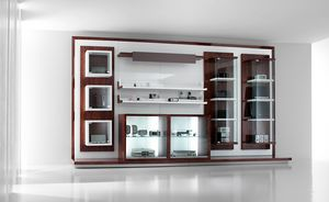 Revolution - display units for telephone and hi-fi shops, Exhibitor furniture for shops, with display cabinets and shelves