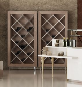 Revolution - exhibitor for wine bottles, Wine bottles rack, for shop