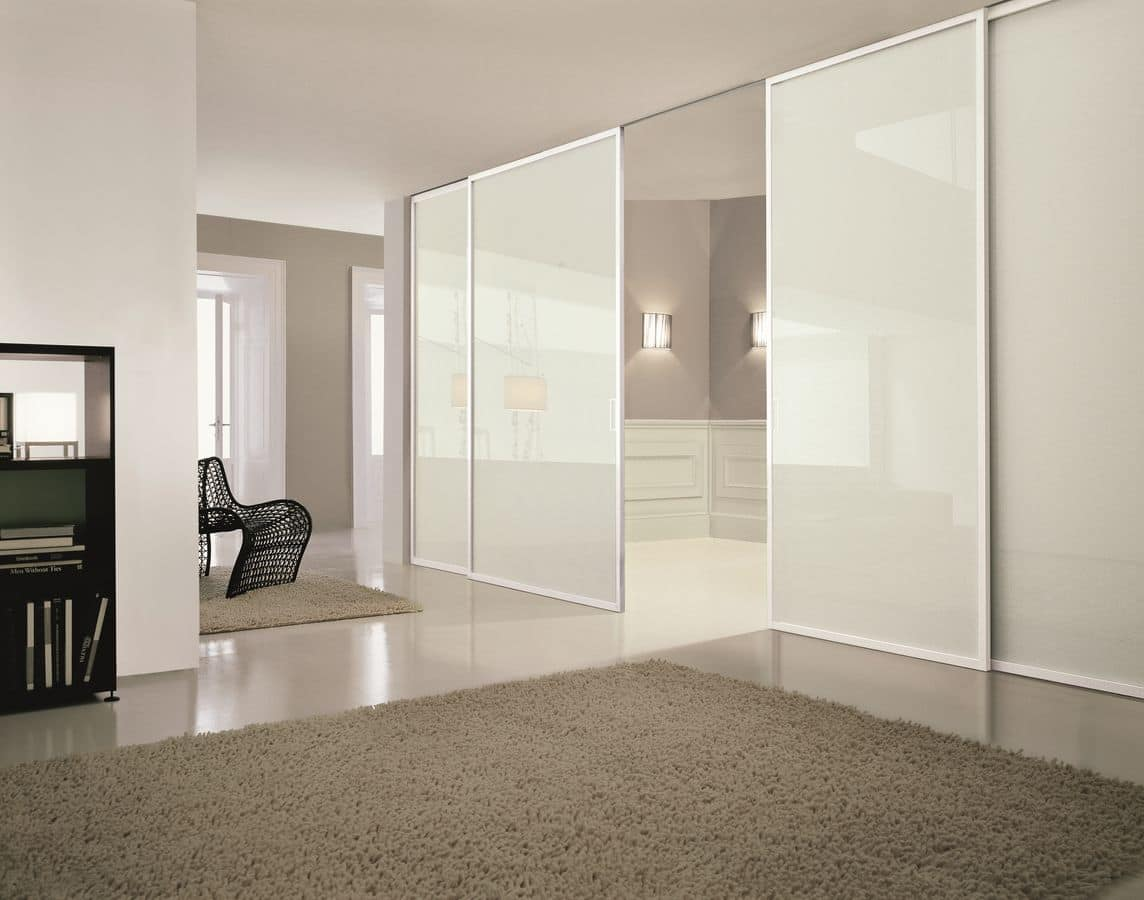 Dea, Customizable sliding doors suited for Home