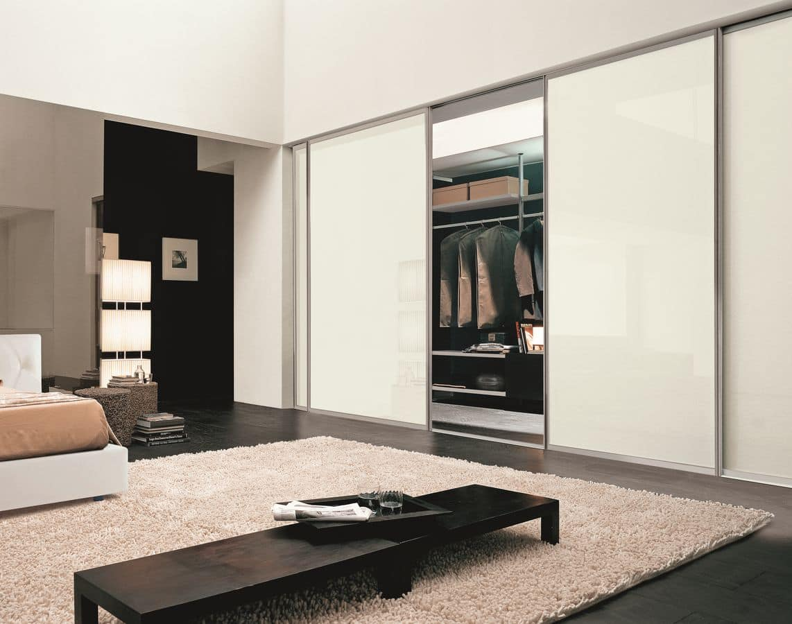 Magica, Suspended sliding doors ideal for any environment