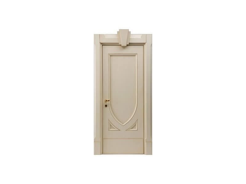 Terminus, Acoustic door for hotel rooms, lacquered glossy finish, panic lock