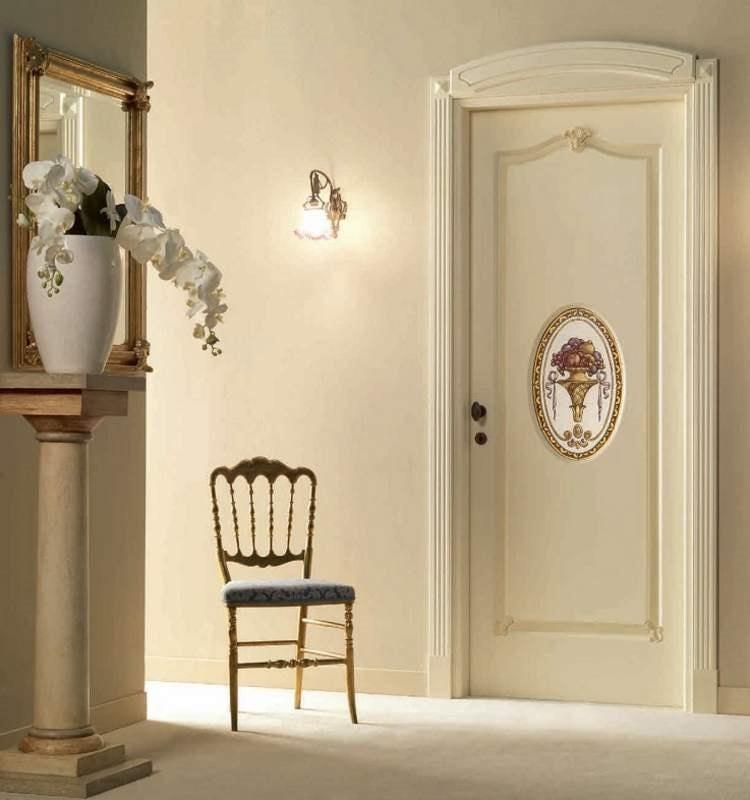 Villa Grabau Art. 713 OV/QQ/A/AP/V, Classic door with central decoration