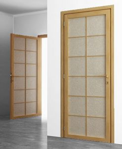 Shoji, Japanese style hinged door
