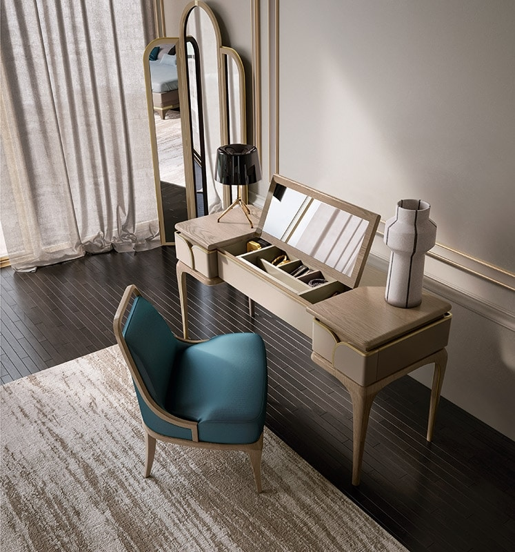 Alexander Art. A75, Dressing table with mirror