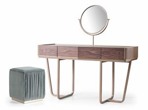 Beverly Art. 799, Dressing table with round swivel mirror