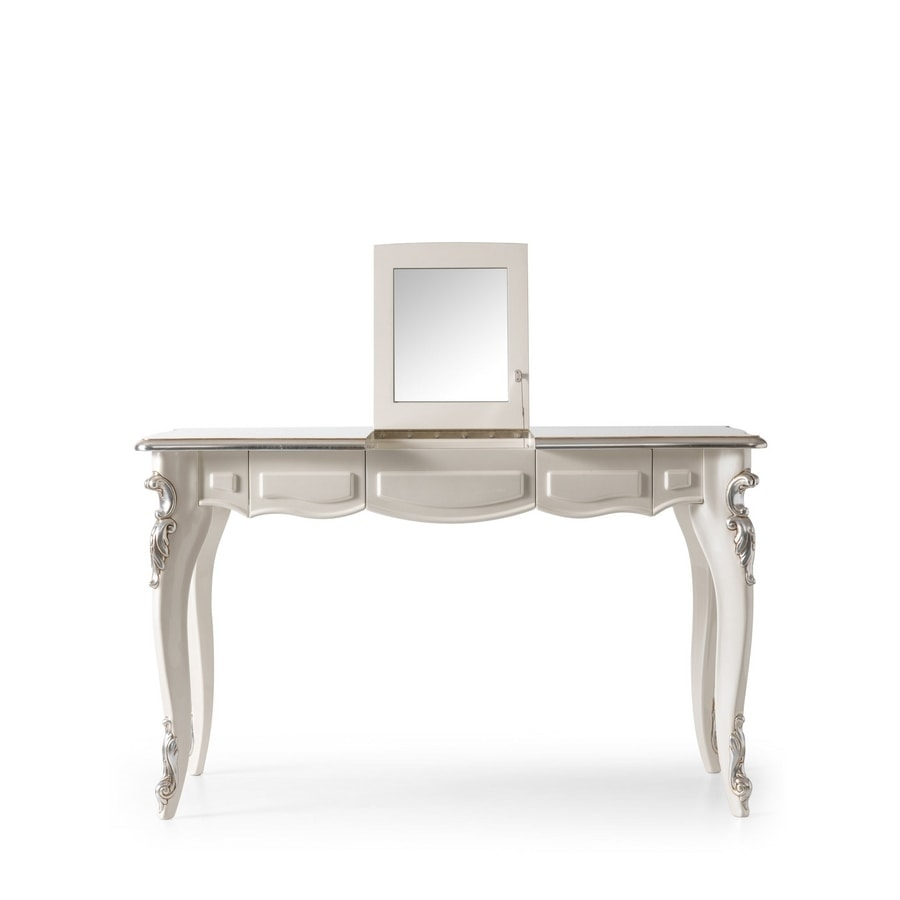 Charlotte Art. 719, Dressing table with flap mirror