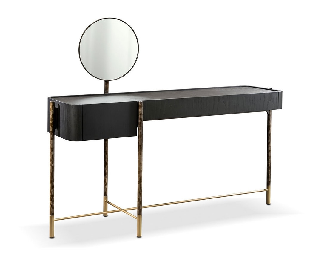 dressing tableShanghai, Dressing table with leather top