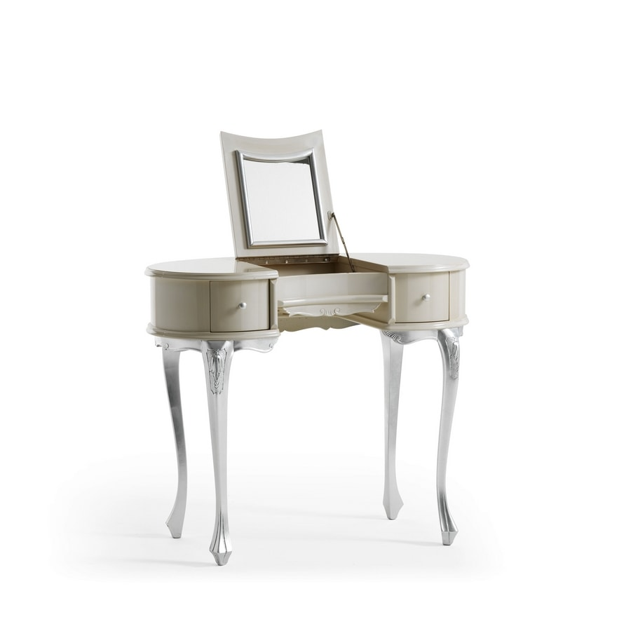 Gemma Art. 558, Dressing table with pull-out mirror