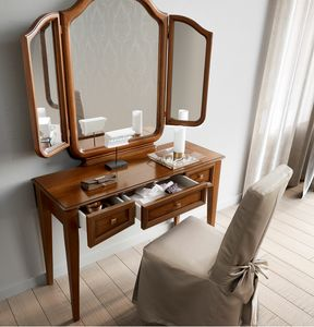 Giotto dressing table, Dressing table with adjustable mirror