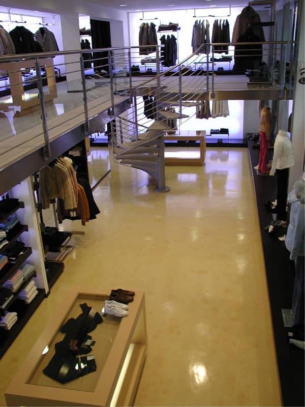 Epoxy floors for stores, Elegant resin flooring, for shopping centers