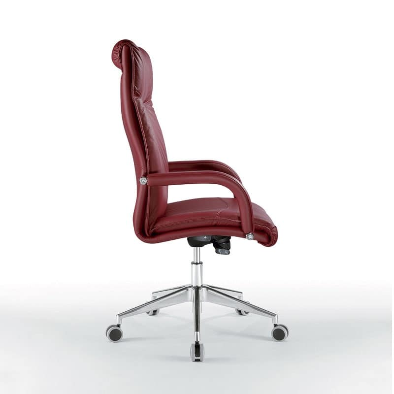 Angel high, Presidential chair with soft padding, for Offices