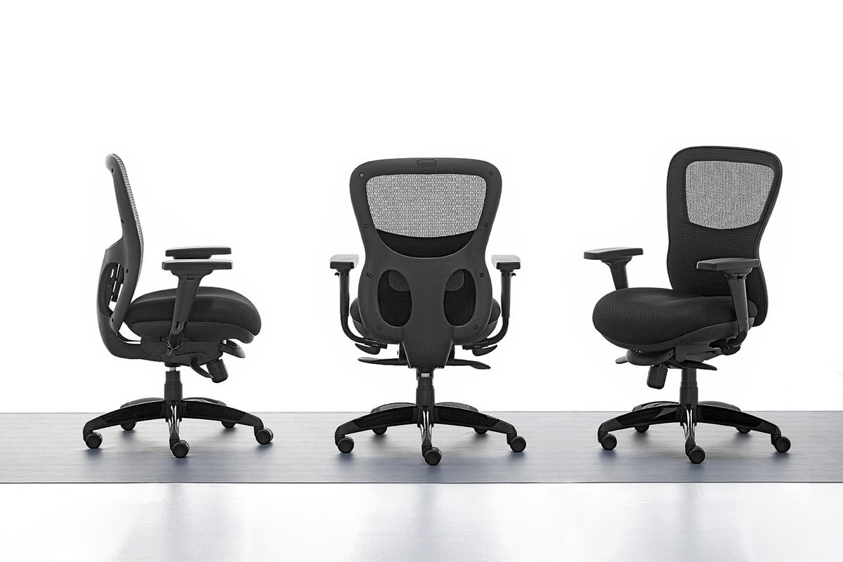 Athos 01, Directional office chair, interior plywood seat