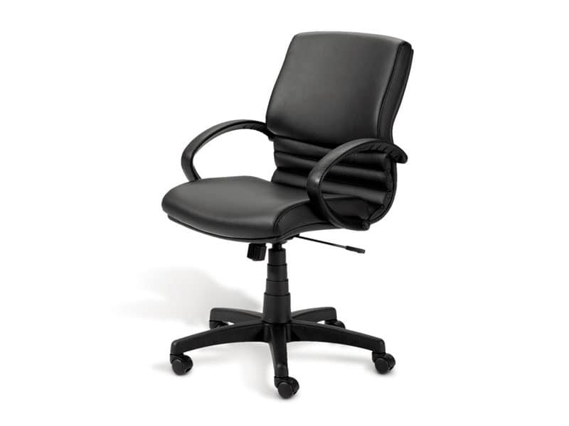 Digital 02, Executive chair, polished aluminum base, for office
