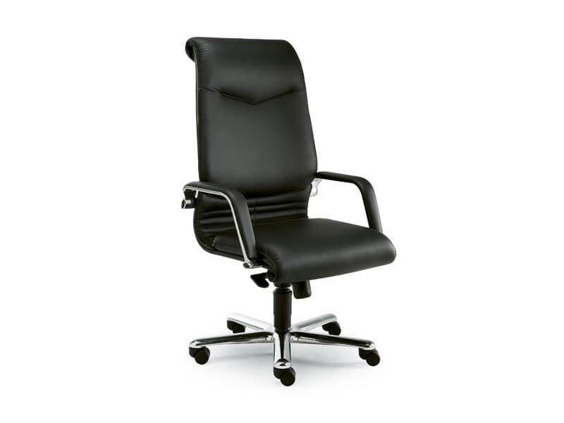 Elegance high executive 2812, Presidential office chair covered in leather