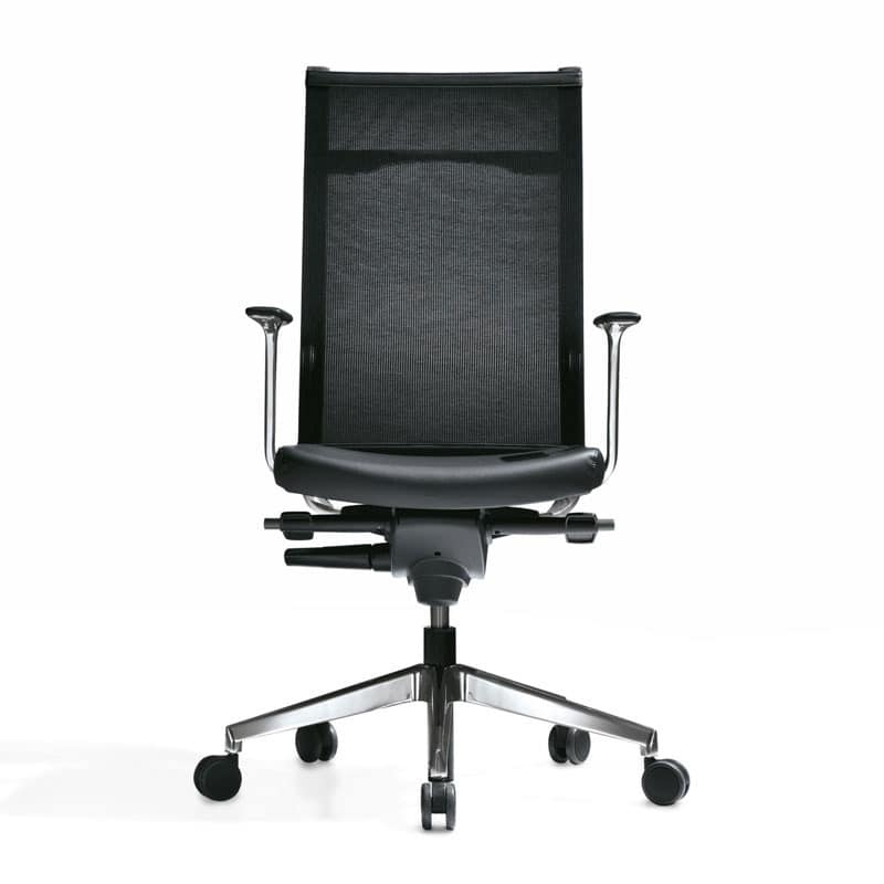Kosmo mesh, High-backed chair, for Professional Studies