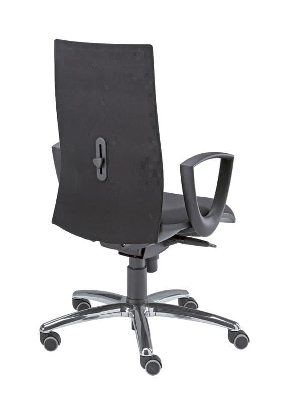 Kroma, Operator swivel chair, covered in various colors