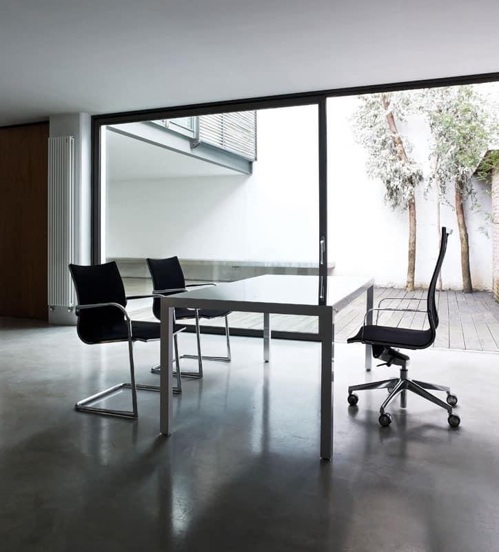 Kruna mesh, Swivel task chair, high back, system knee-tilt