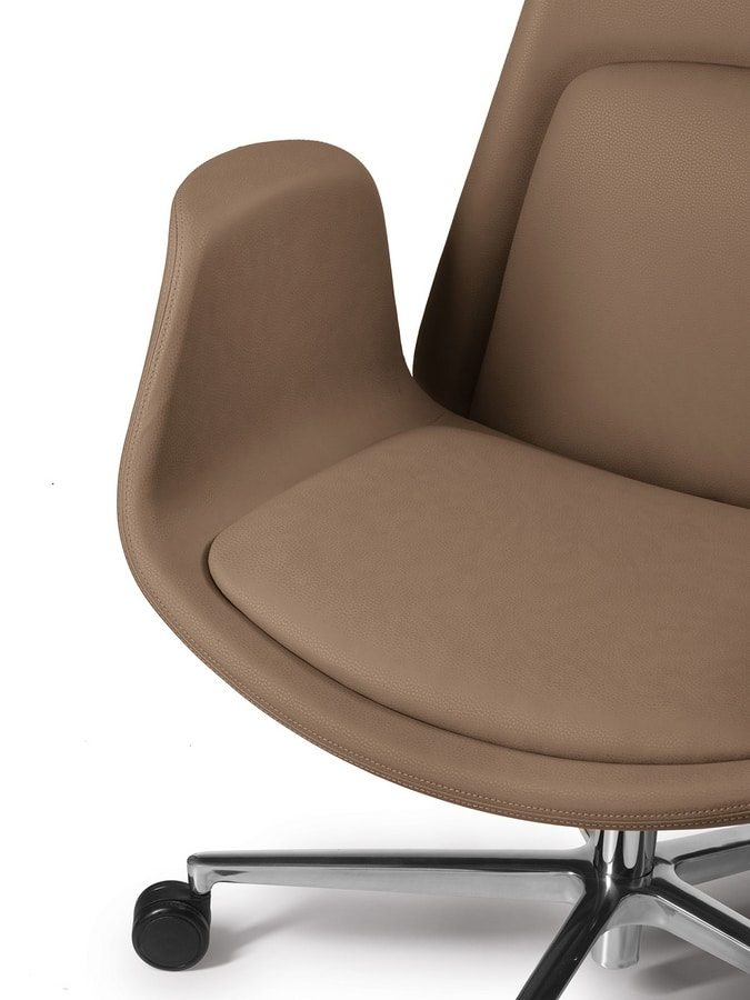 Nordes high, Office chair with a soft design