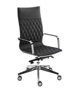 Kruna plus rhomboidal, High back chair, for Professional Studio
