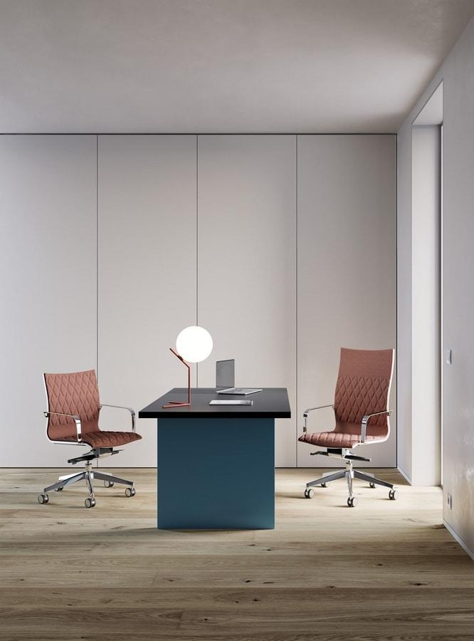 Kruna plus rhomboidal, High back chair, for Professional Studio