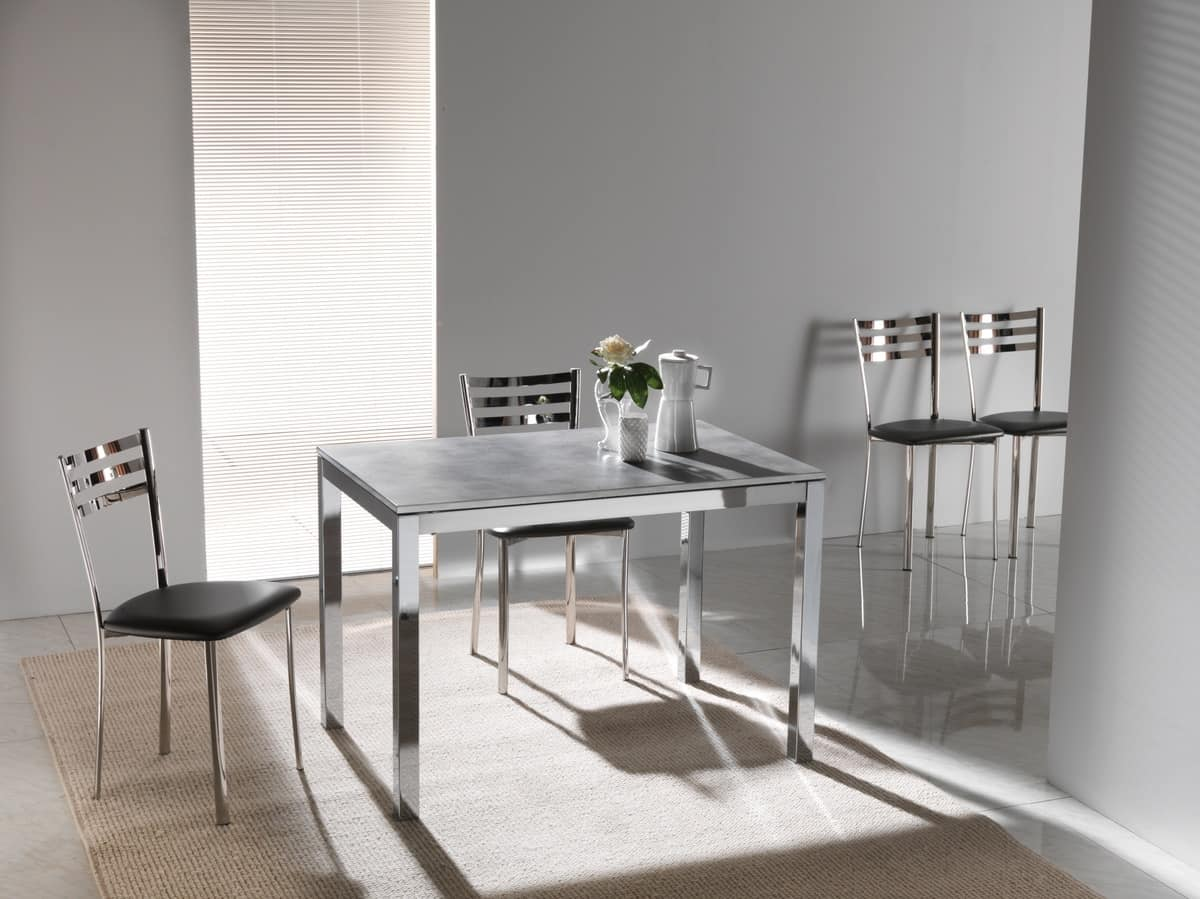 Art. 635 Majestic, Extendable table, with packet extension