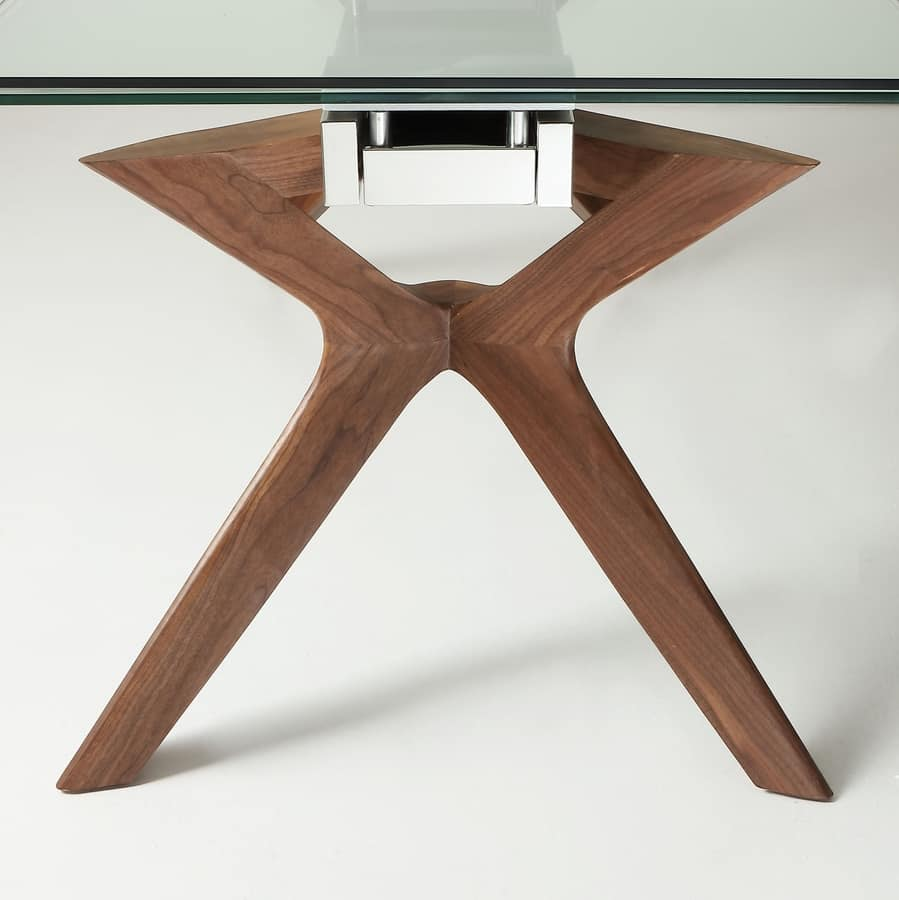 Art. 651 Palladio, Extending table with hickory legs