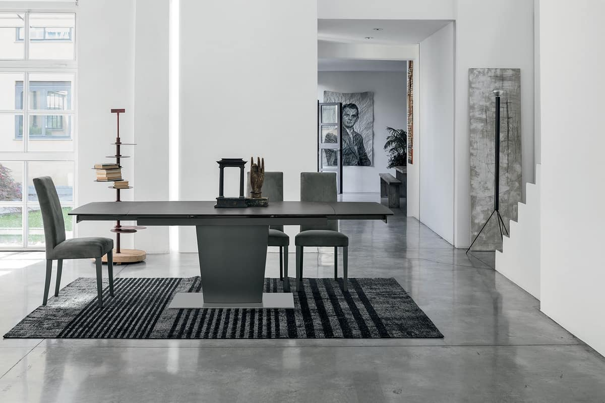 COPERNICO 160 TA196, Extensible table with customizable top