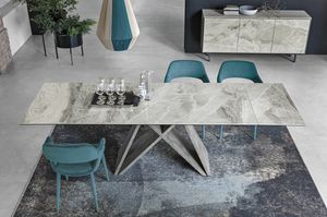DELTA 180 TA519, Table with porcelain stoneware top