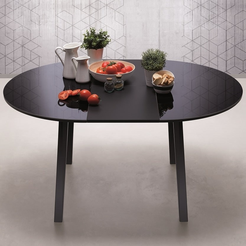 Hydra Round, Round table, simple and eclectic
