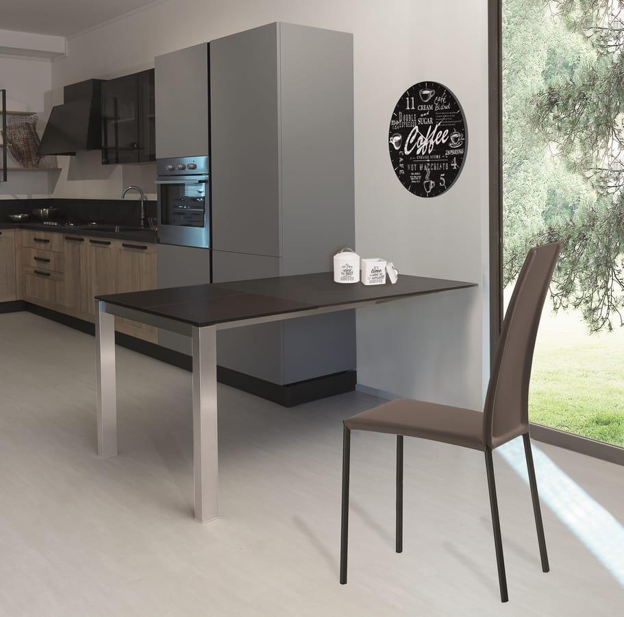 s10 voilà, Extendible peninsula for kitchen